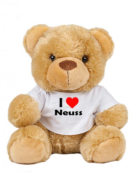 Teddy - I love Neuss - Plüschbär Neuss