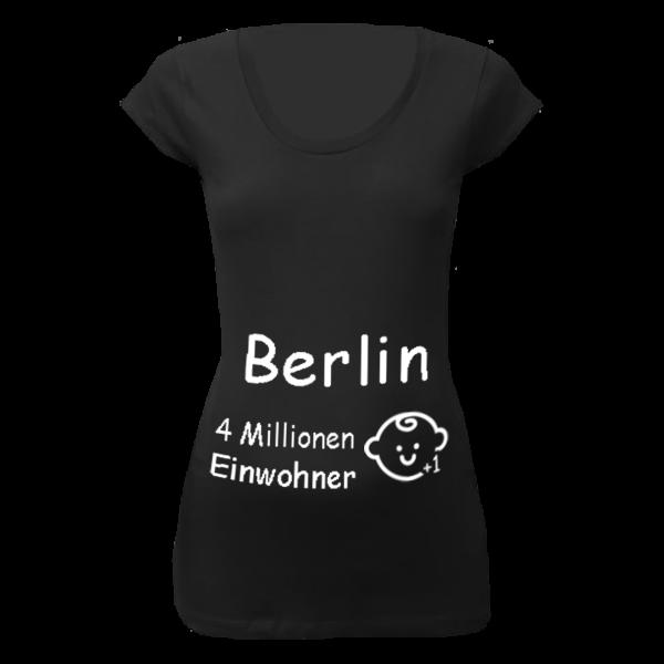 Berlin Einwohner + 1 T-Shirt für Schwangere Frauen