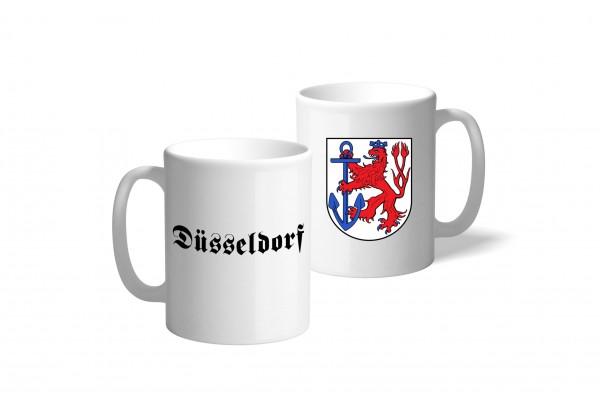 Tasse Wappen: Düsseldorf