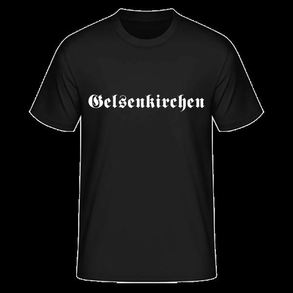 """Unisex T-Shirt Altdeutsch """"Gelsenkirchen"""""""