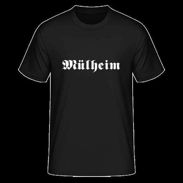 """Unisex T-Shirt Altdeutsch """"Mülheim"""""""