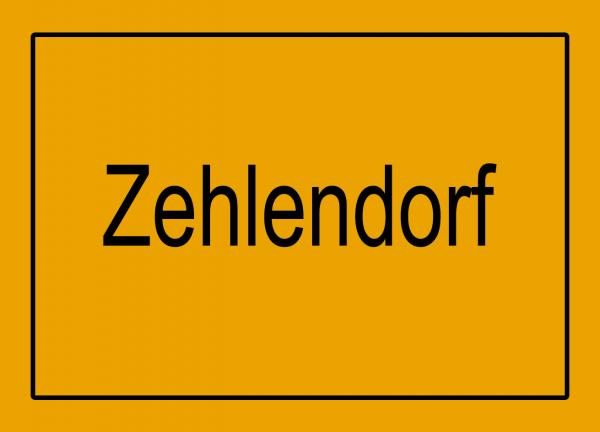 Aufkleber - Ortseingang Zehlendorf