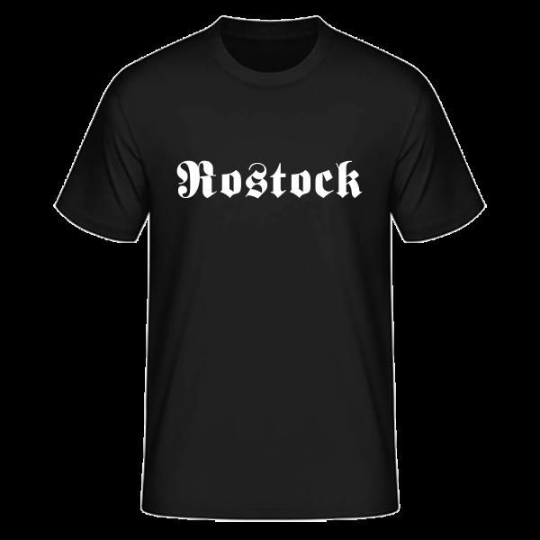 "Unisex T-Shirt Altdeutsch ""Rostock"""