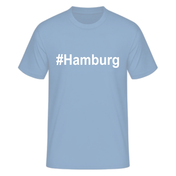 T-Shirt Kurzarmshirt #Hamburg