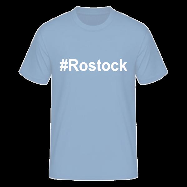 T-Shirt Kurzarmshirt #Rostock