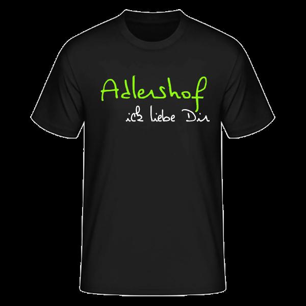 T-Shirt Adlershof Ick liebe dir