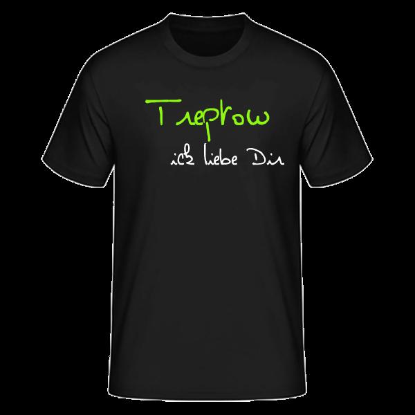 T-Shirt Treptow Ick liebe dir