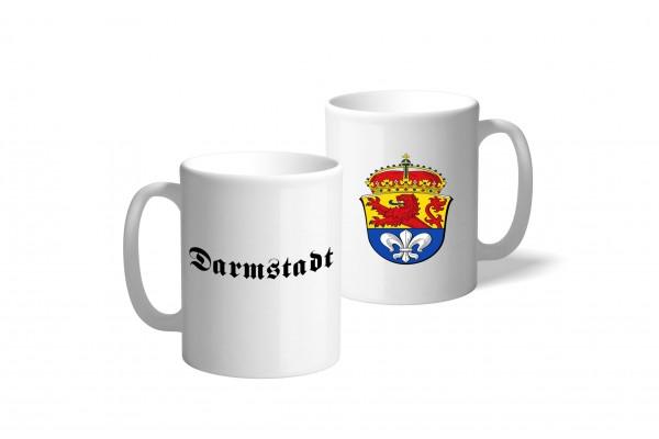 Tasse Wappen: Darmstadt
