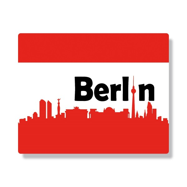 Mousepad Berlin Skyline 2