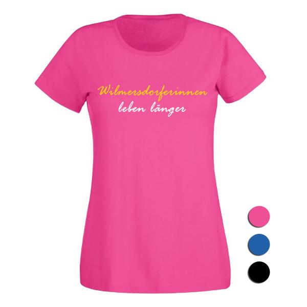 T-Shirt Wilmersdorferinnen leben länger
