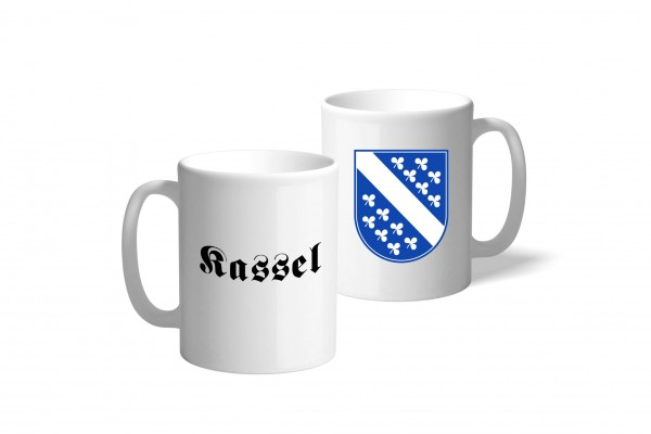Tasse Wappen: Kassel