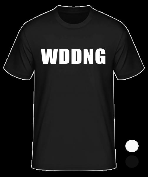 T-Shirt Konsonanten Wedding