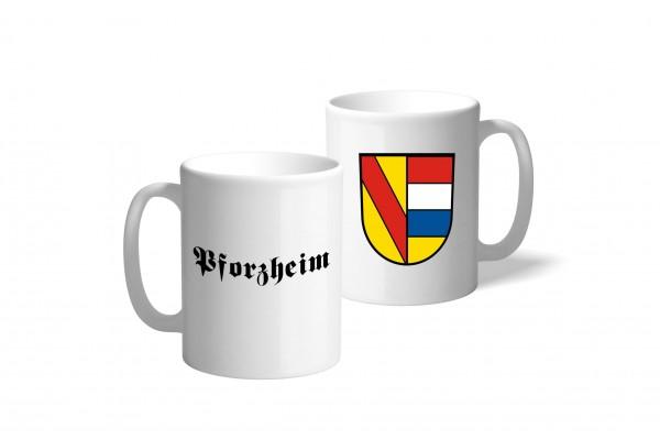 Tasse Wappen: Pforzheim