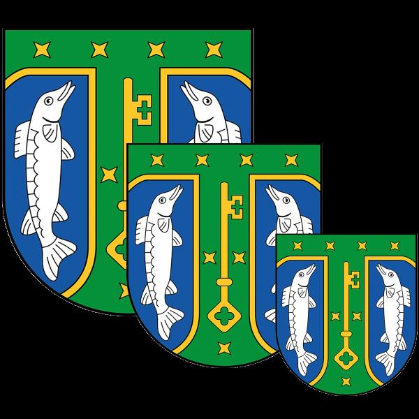 Aufkleber - Wappen Treptow-Köpenick