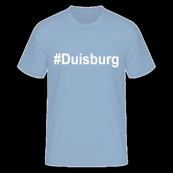 T-Shirt Kurzarmshirt #Duisburg