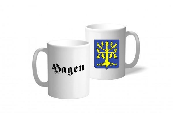 Tasse Wappen: Hagen