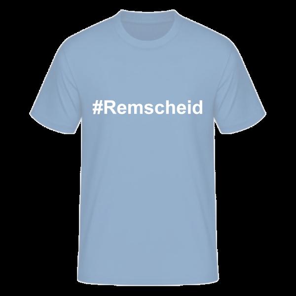 T-Shirt Kurzarmshirt #Remscheid