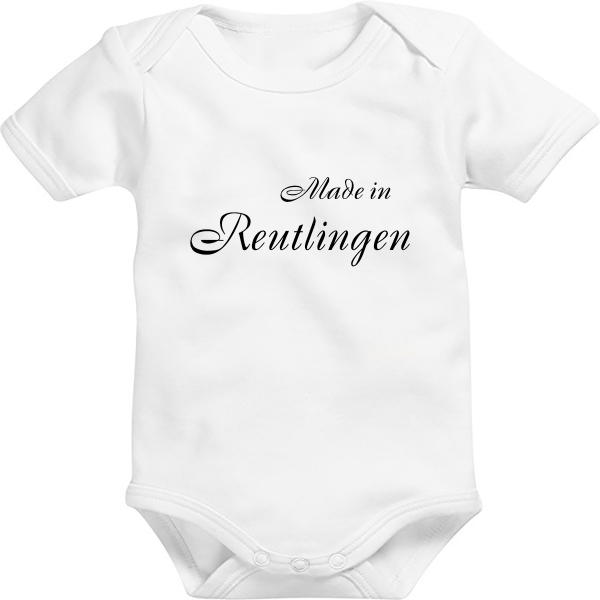 Baby Body: Made in Reutlingen