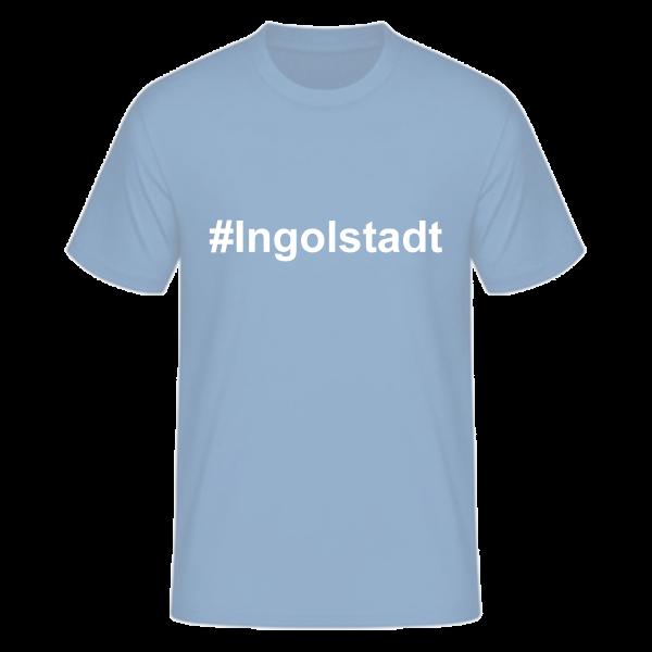 T-Shirt Kurzarmshirt #Ingolstadt