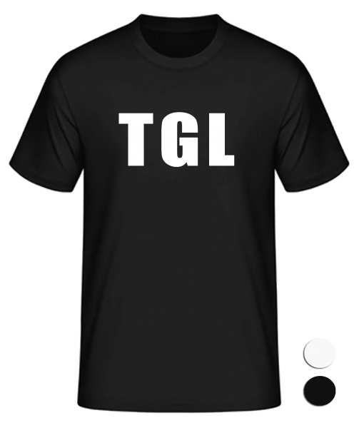 T-Shirt Konsonanten Tegel