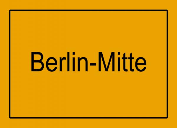 Aufkleber - Ortseingang Berlin-Mitte