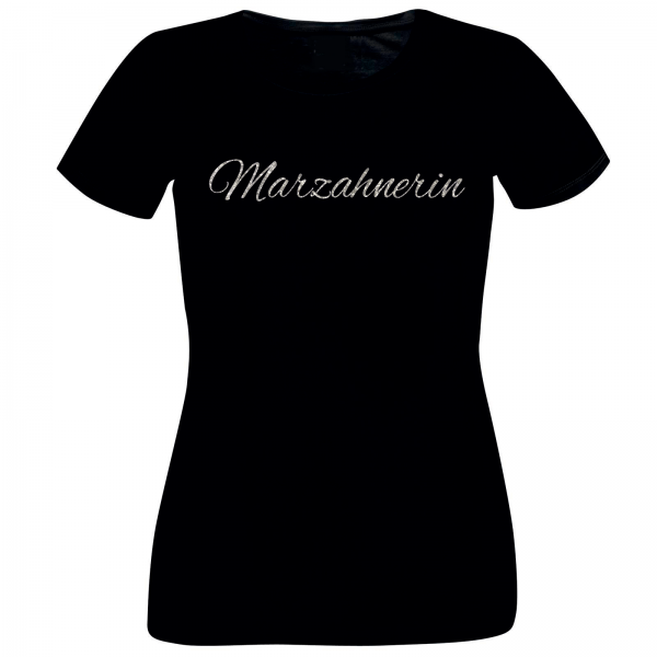 Girlie-Shirt Glitzer Marzahnerin