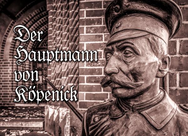 Aufkleber Hauotmann von Köpenick