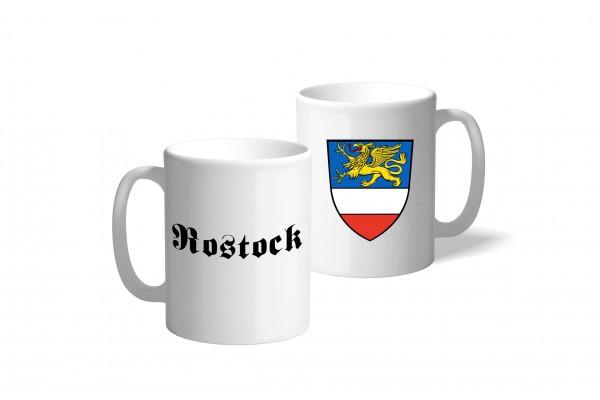Tasse Wappen: Rostock