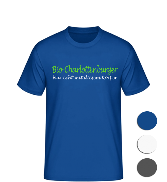 T-Shirt Bio-Charlottenburger