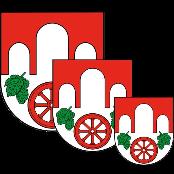 Aufkleber - Wappen Pankow