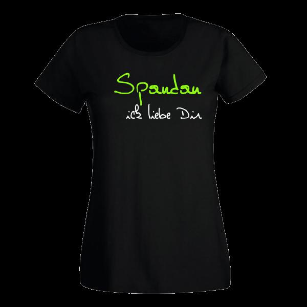 T-Shirt Spandau Ick liebe dir für Frauen