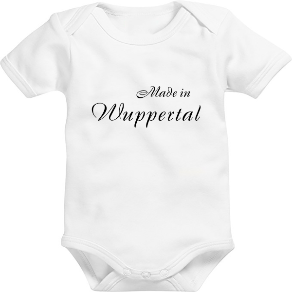 Baby Body: Made in Wuppertal