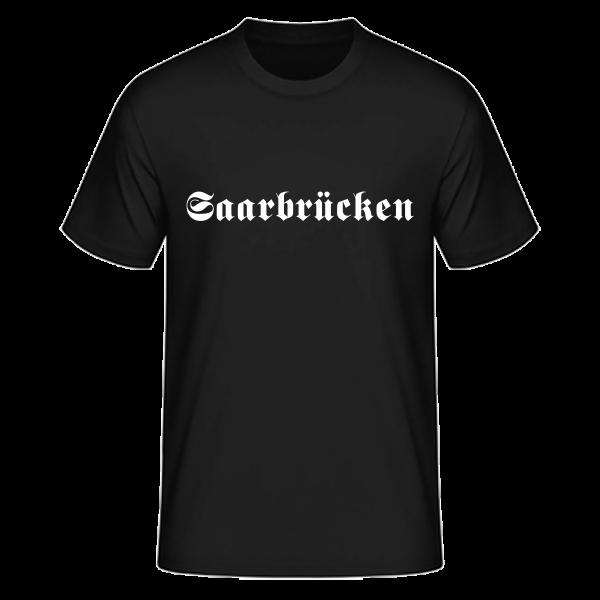 """Unisex T-Shirt Altdeutsch """"Saarbrücken"""""""