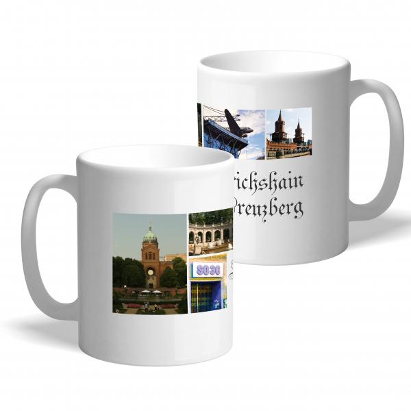 """Moderne Fototasse """"Friedrichshain-Kreuzberg"""""""