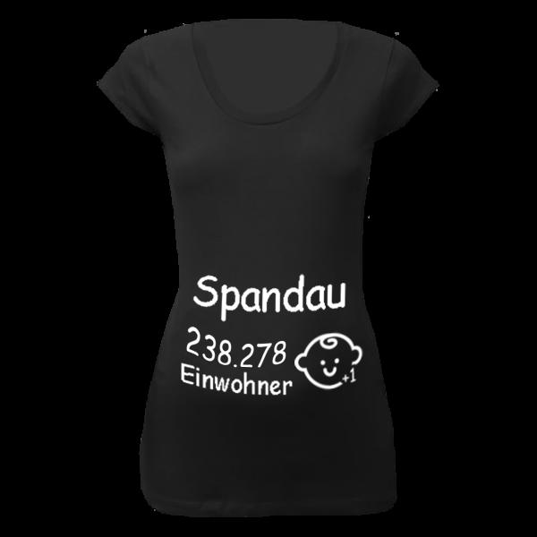 Spandau Einwohner + 1 T-Shirt für Schwangere Frauen