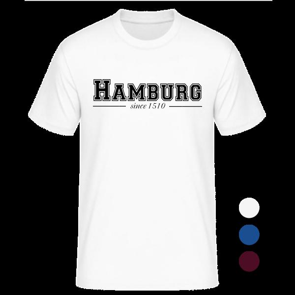T-Shirt College Hamburg since 1510