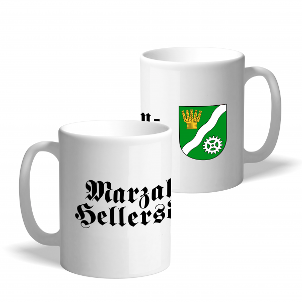 Tasse Wappen: Marzahn-Hellersdorf
