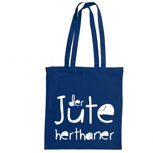 Bundesliga-Beutel Hertha aus Berlin - Der Jute Herthaner - Jutebeutel
