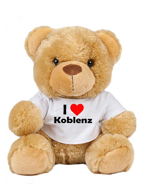 Teddy - I love Koblenz - Plüschbär Koblenz