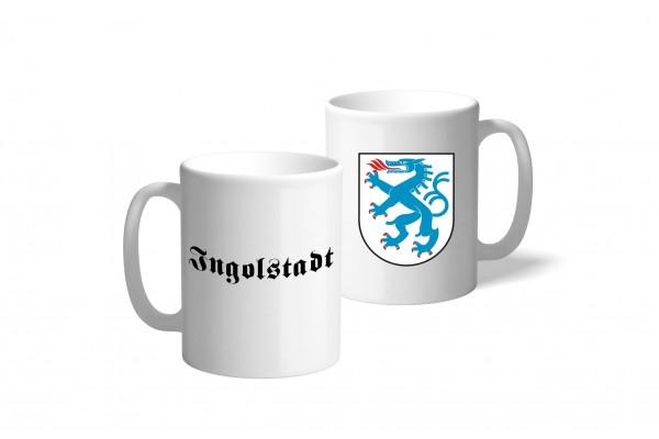Tasse Wappen: Ingolstadt