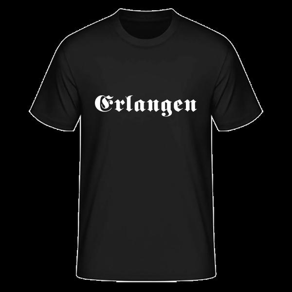 """Unisex T-Shirt Altdeutsch """"Erlangen"""""""