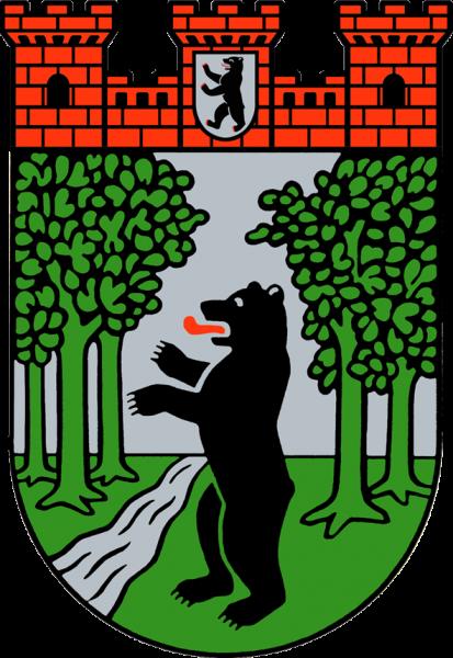 Aufkleber - Wappen mittelgroß (Treptow)