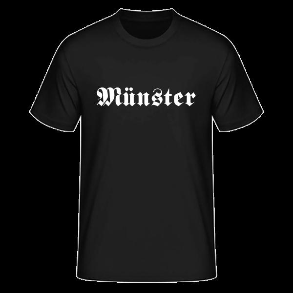 "Unisex T-Shirt Altdeutsch ""Münster"""