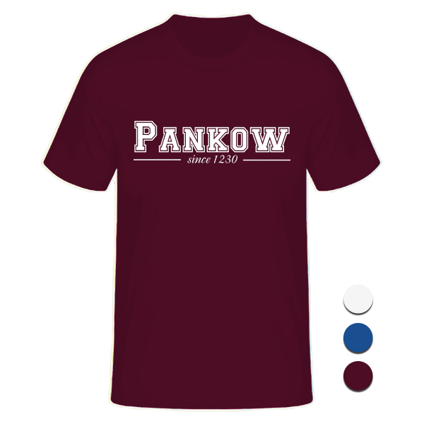 T-Shirt College Pankow since 1230