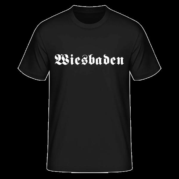 """Unisex T-Shirt Altdeutsch """"Wiesbaden"""""""
