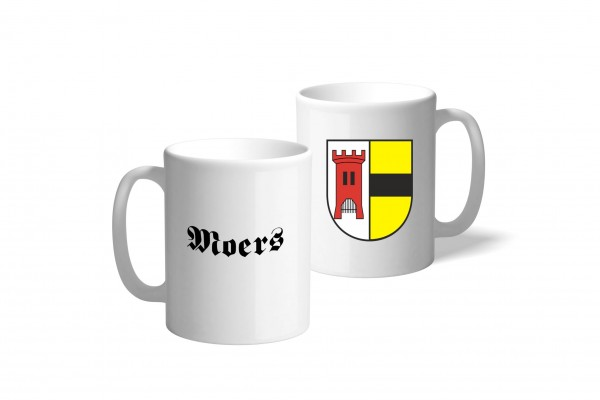 Tasse Wappen: Moers