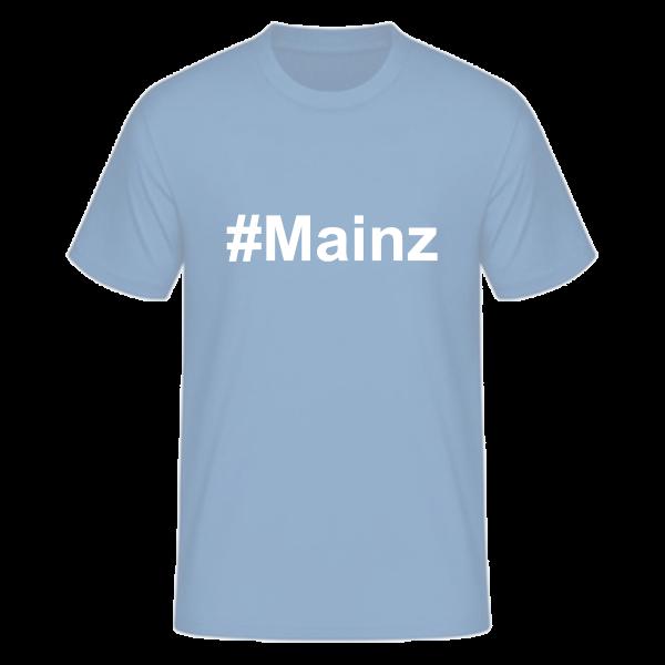 T-Shirt Kurzarmshirt #Mainz