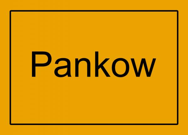 Aufkleber - Ortseingang Pankow