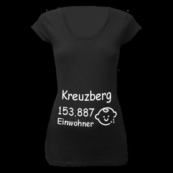 Kreuzberg Einwohner + 1 T-Shirt für Schwangere Frauen