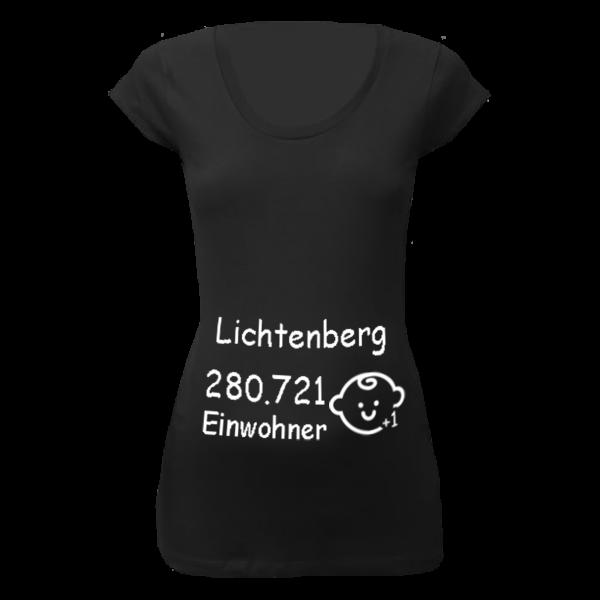 Lichtenberg Einwohner + 1 T-Shirt für Schwangere Frauen